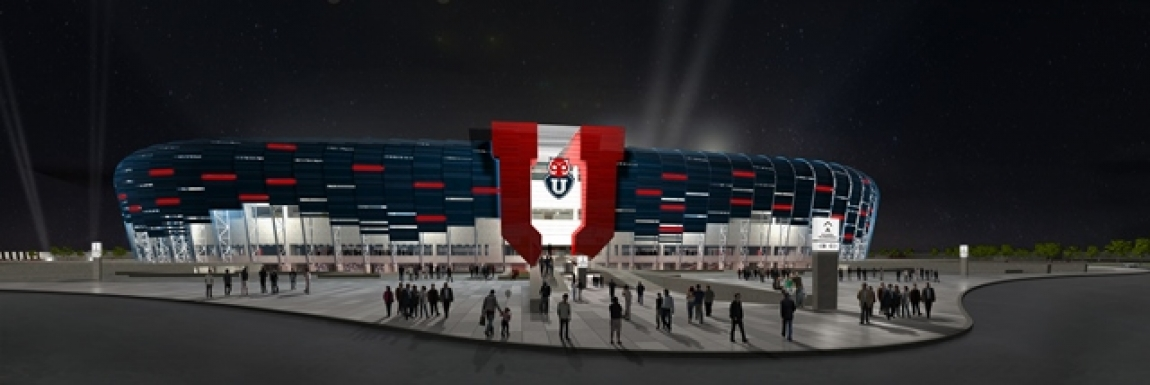 Diseño conceptual estadio Universidad de Chile